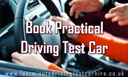 Book Practical Driving Test
