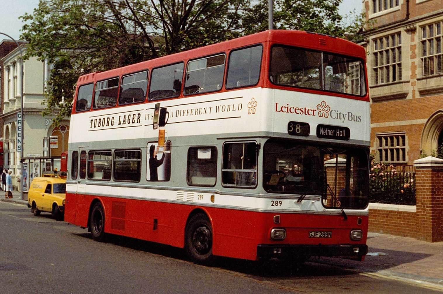 Bus To Leicester