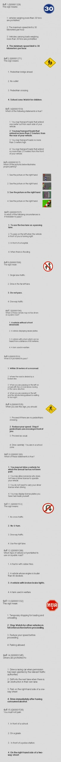 Drivers License Exam Driving Test