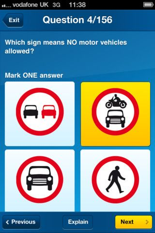 Latest Driving Theory Test App