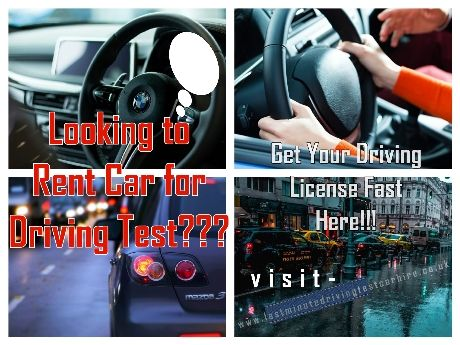 Driving License Test Automatic Car