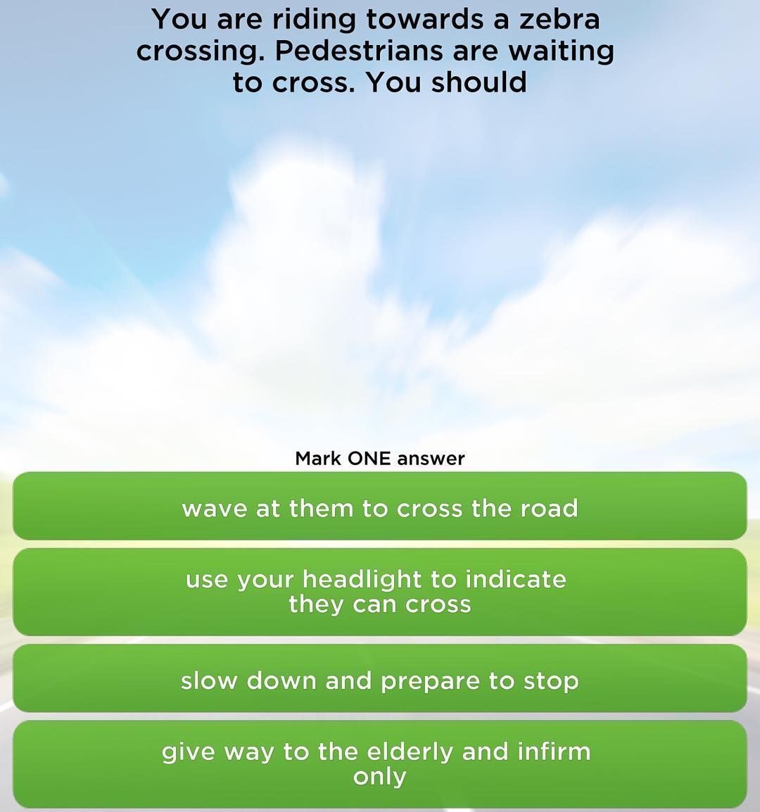 Driving Theory Test Questions With Answers