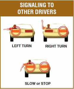 Arm Signals For Driving Test