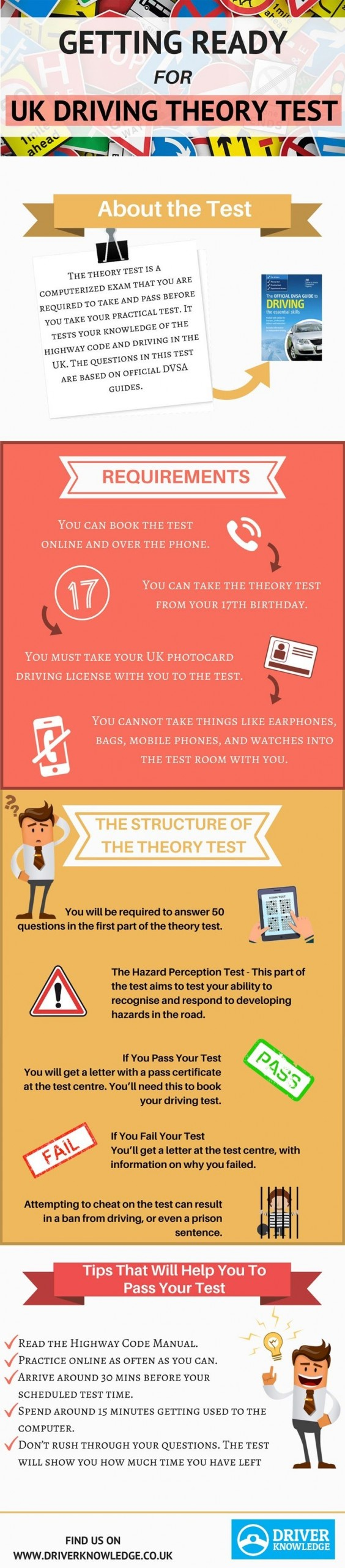 What To Do If You Fail Theory Test