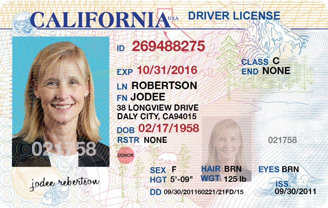 Iss On Driver License