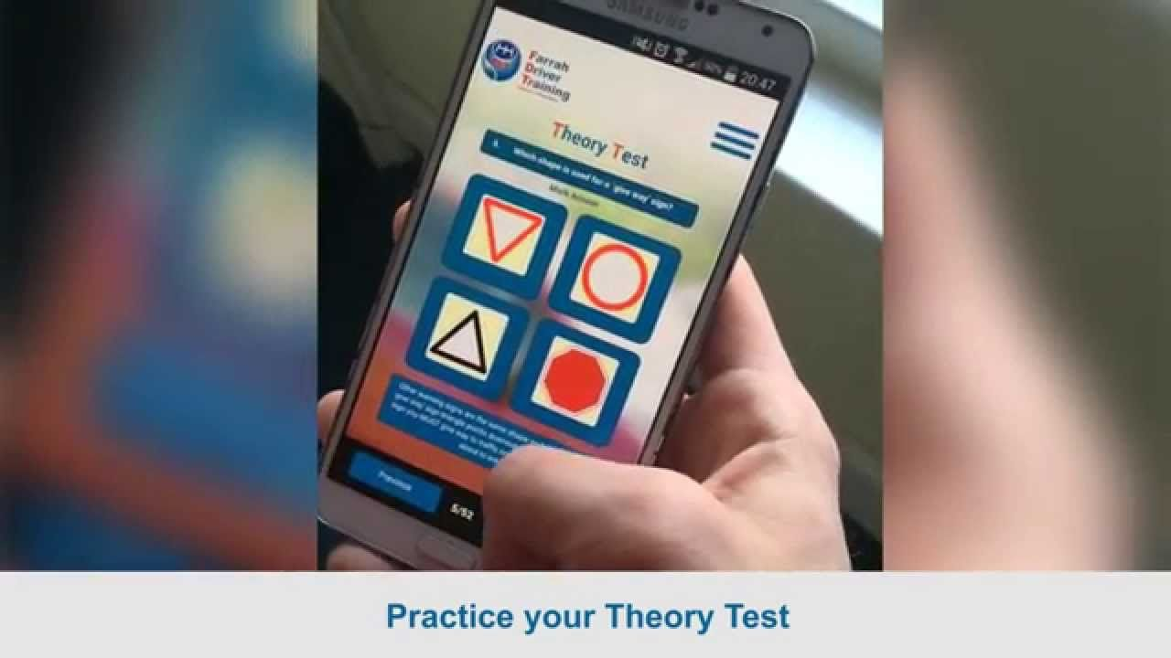 Free App For Driving Theory Test