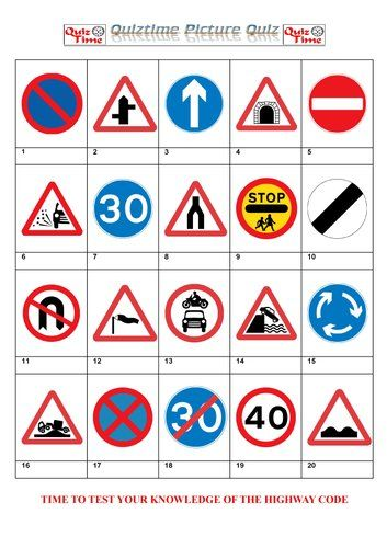 Highway Code Test Questions And Answers