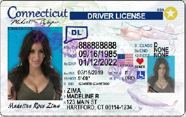 Connecticut Driving License