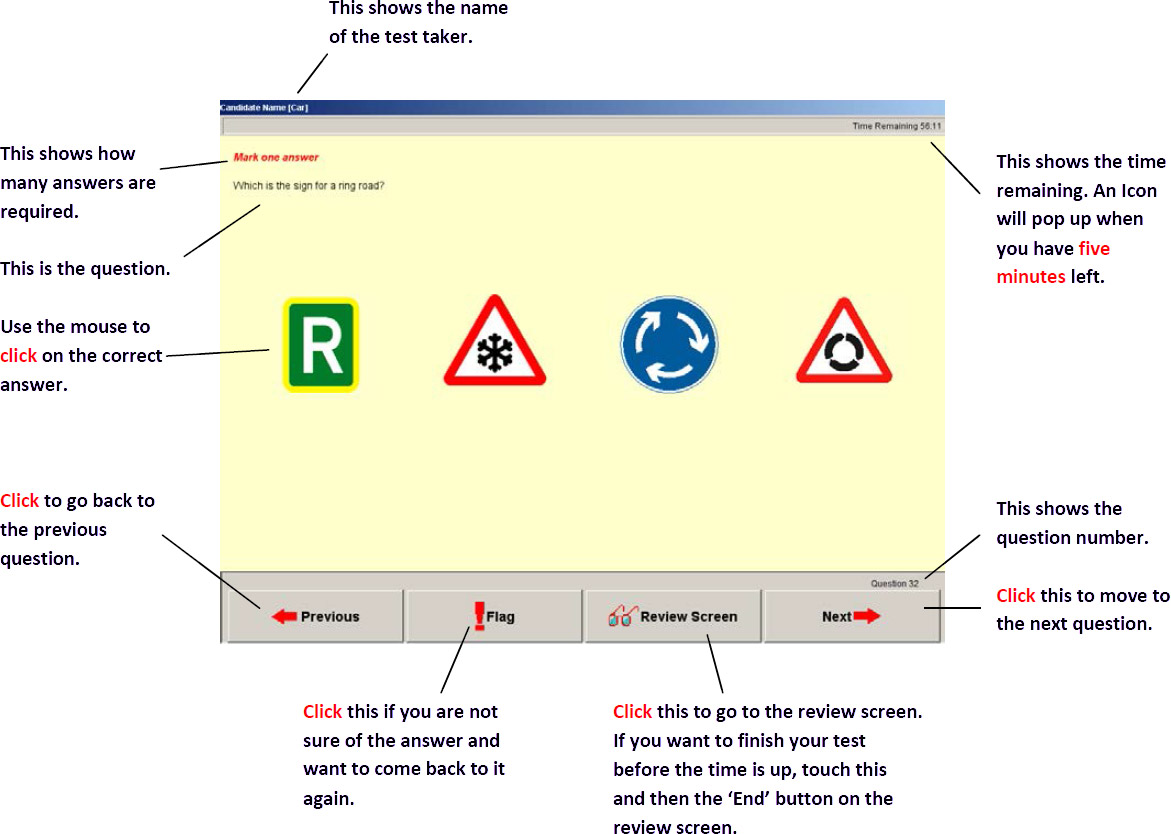Free Theory Test Practice Driving Theory Test Online 2021