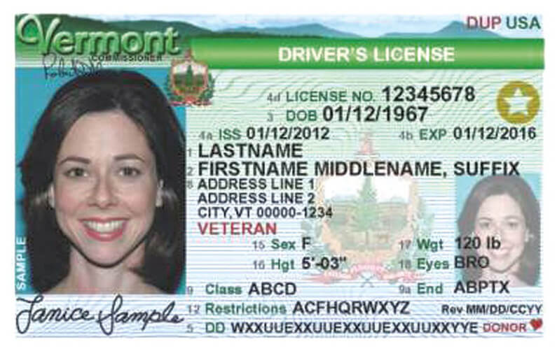 Vermont Driver's License Test Appointment