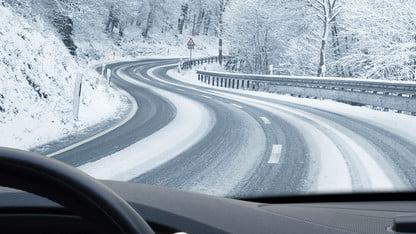 Driving On Icy Roads Low Gear